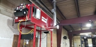 Check out this installed Clean Burn heater.
