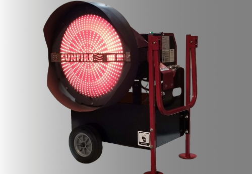 Product Spotlight: The Portable And Radiant SunFire Heater