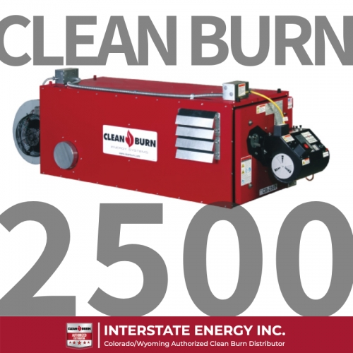 Product Spotlight: Clean Burn CB-2500
